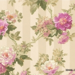 ดอกไม้คลาสสิค สีม่วง-ชมพู