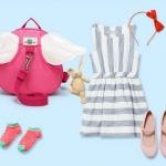 กระเป๋าจูงเด็ก เป้จูงเด็ก รูปปีกนางฟ้า สำหรับจูงเด็ก ป้อนกันการพลัดหลง มาพร้อมสายจูง 1 เส้น กระเป๋าเปิดปิดด้วยซิป ใส่ของได้จริง