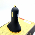 ที่ชาร์จในรถยนต์ รีแมกซ์ Remax Car Charger 3 Port USB สีดำ 6.3A ราคา 340 บาท