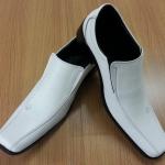 รองเท้าทางการสีขาว 1967-White