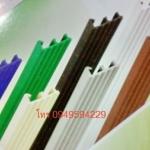 จมูกบันไดพีวีซี กว้าง1.7นิ้ว (กว้าง45mm.xสูง20mm.) หนา3มิล รุ่นN17 เมตรละ 5X