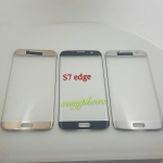แผ่นกระจกหน้าจอ Galaxy S7edge สีขาว//สีดำ//สีทอง