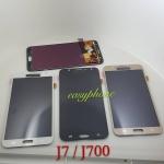 หน้าจอ Samsung J7/J700 ( งาน A ปรับแสงไม่ได้ ) สีดำ/สีขาว/สีทอง