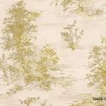วอลเปเปอร์ลาย ต้นไม้ ธรรมชาติ สีทอง (สีหลัก)