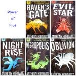แนะนำหนังสือชุด Power of Five แต่งโดย Anthony Horowitz
