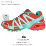รองเท้า salomon speedcross 3 CS ส้ม - เขียว