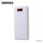 Power bank แบตสำรอง Remax 30000 mAh สีขาว ของแท้ ปกติราคา 1,590 ลดเหลือ 890 บาท