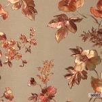 วอลเปเปอร์ลายดอกไม้โมเดิร์นสีทอง