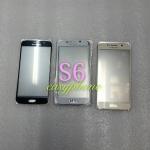 แผ่นกระจกหน้าจอ Galaxy S6 สีขาว//สีดำ//สีทอง