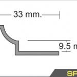 """คิ้วกระเบื้องPVC สำหรับลบมุมในสำหรับกระเบื้อง12""""x12"""""""