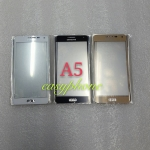 แผ่นกระจกหน้าจอ Galaxy A5 สีขาว//สีดำ//สีทอง