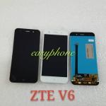 LCD ZTE V6 สีดำ、สีขาว // จอกันทัสติดด้วยกัน