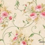 วอลเปเปอร์ลายดอกไม้คลาสสิค