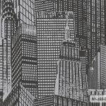 แนวโมเดิร์นดีไซน์นครนิวยอร์ก สีดำ