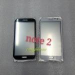 แผ่นกระจกหน้าจอ Galaxy Note2 (N7100) สีเทา