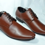 รองเท้าหนัง ชาย-หญิง ทรงหัวแหลม สีน้ำตาล มีไซส์ 36-47
