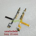สายแพรสวิทเปิดปิด + ไมล์ + มอเตอร์สัน Sony Xperia Z5 mini