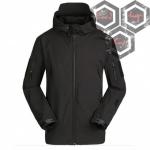 เสื้อแจ็คเก็ตแทดเกียร์ ดำ
