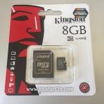 การ์ด Micro SD เมมโมรี่ การ์ด 8GB-Class 4 Kingstons แท้ 100% ลดราคา เหลือ 169 บาท