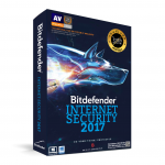 Bitdefender Internet Security 2017 (1 Year / 3 PCs) FPP