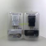 สายชาร์ท Samsung 2in1 เป็นหัว Micro สี ดำ,ขาว