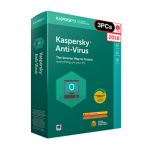 Kaspersky Antivirus 2018 (1 Year / 3 PCs) FPP