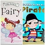 I'd like to be a…Fairy + I'd like to be a…Pirate