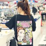 เสื้อคลุมท้องวัยรุ่นพิมพ์ลาย Girls Love