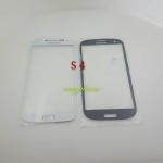 แผ่นกระจกหน้าจอ Galaxy S4 (i9500) สีขาว//สีดำ