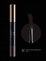 Merrez'ca Perfect Brow Gel # Deep brown