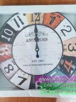 นาฬิกาแขวนวินเทจ ขนาด 33 เซนติเมตร รุ่น Antiques EST 1909