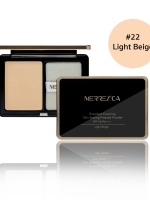 Merrez'ca Excellent Covering Skin Setting Pressed Powder #22 Light Beige
