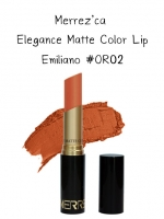 Merrez'Ca Elegance Matte Color Lip #OR02 Emiliano