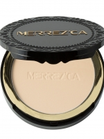 Merrez'ca CC Matte Powder Cake SPF45/Pa++ #21 light Node