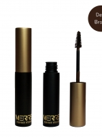 Merrez'ca Perfect Eyebrow Mascara #Deep Brown