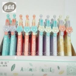 ปากกาแฟนซี ปากกาการ์ตูน กล่อง 50 ด้าม- 6C (14 แบบ)