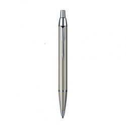 ปากกาป๊ากเกอร์ ลูกลื่น ไอเอ็ม ดีลักซ์ นิกเกิล ซีที – PARKER IM DELUXE BRUSHED NICKEL CHROME TRIM