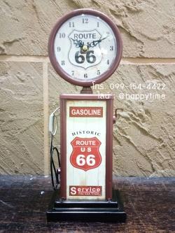 นาฬิกาวินเทจเก๋ๆ รุ่นปั๊มแก๊ส Gasoline Route US 66