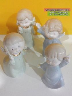 ตุ๊กตาเทวดาการ์ตูนน่ารัก เซต 4 ตัว