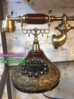 โทรศัพท์บ้านแบบโบราณคลาสสิค ดีไซน์สวยหรู ใช้งานได้จริง รหัสสินค้า AP-3253