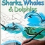 I can draw sharks, whales and dolphins thumbnail 1