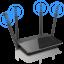 D-LINK WIRELESS AC1200 MU-MIMO WIFI GIGABIT ROUTER DIR-842 thumbnail 1