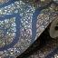 วอลเปเปอร์ลายไทย ลายพุ่มข้าวบิณฑ์ สีน้ำเงิน-ทอง thumbnail 1