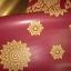 วอลเปเปอร์ลายไทย - ลายดาวสีทอง - แดง สำหรับติดเพดาน thumbnail 1
