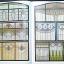 authentic art nouveau stained glass designs thumbnail 3