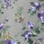 วอลเปเปอร์ลายดอกไม้โมเดิร์นสีม่วง thumbnail 1