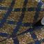 วลายประจำยาม สีน้ำเงิน-ทอง thumbnail 1