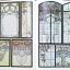 authentic art nouveau stained glass designs thumbnail 5