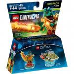 LEGO Dimensions 71223 Chima Cragger Fun Pack