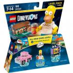 LEGO Dimensions 71202 Simpsons Level Pack
